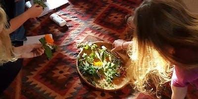 Magical Herbalism weekend in Fife, Scotland with Elisabeth Brooke.