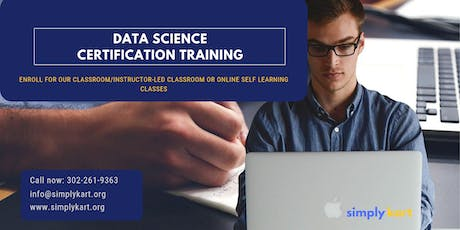 Data Science Certification Training in  Port-Cartier, PE tickets