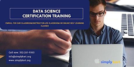 Data Science Certification Training in  Sainte-Anne-de-Beaupré, PE billets