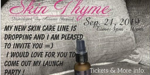 Skin Thyme Launch Party
