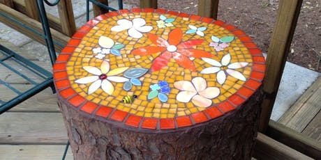 Beginners Mosaic - Jarrah Stool tickets
