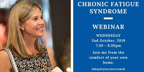 Recover From Chronic Fatigue Syndrome tickets