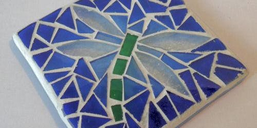 Kids Mosaic - Garden tile