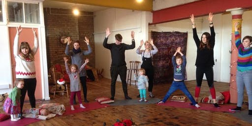 Family Yoga Playshala - Halloween Party!