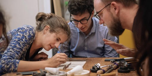 Make A Pair Of Silver Stud Earrings With Roderick Vere - Workshop