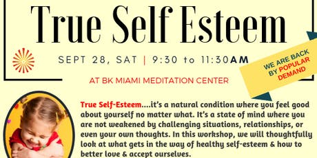 True Self Esteem - Meditation Workshop tickets