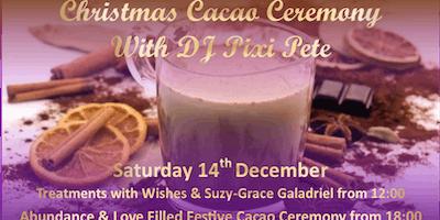 Christmas Cacao Ceremony with DJ Pixi Pete