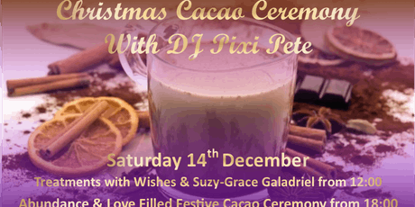 Christmas Cacao Ceremony with DJ Pixi Pete tickets