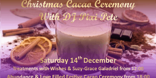 Christmas Cacao Ceremony with DJ Pixi Pete