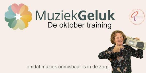 Oktober MuziekGeluk Training - V&V geaccrediteerd met 5 punten