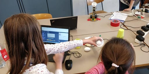 Programming, robotics and rights for girls at EU Code Week EN/FR