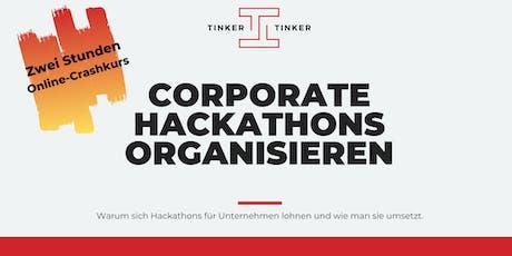 Corporate Hackathons: Was es bringt und wie man sie organisiert. Tickets