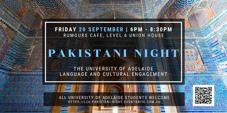 Pakistani Night tickets