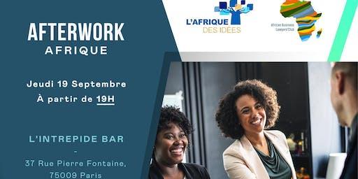 Afterwork L'Afrique des idées Paris en collaboration avec L'ABLC