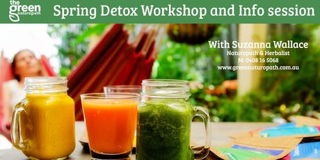 Spring Detox Workshop and Info session tickets