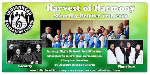 Indianhead Barbershop Chorus, Harvest of Harmony 61st Anniversary Show