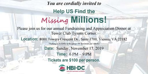 2019 HBI-DC Fundraising & Appreciation Dinner