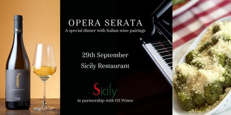 SICILY & GS Wines OPERA SERATA & Special Dinner with Italian Wine Pairings tickets