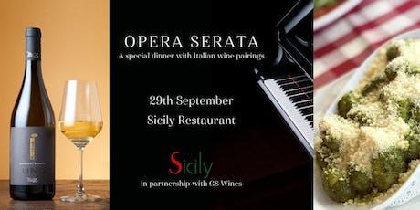 SICILY & GS Wines OPERA SERATA & Special Dinner with Italian Wine Pairings tickets