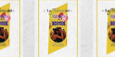 Milonga del tango du Café Floréo billets
