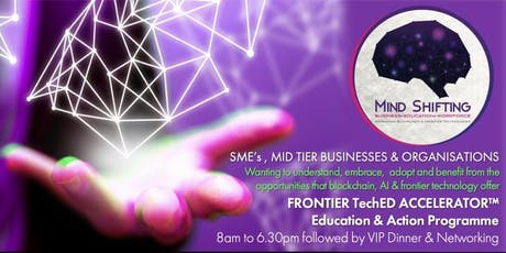 Frontier TechED Accelerator   Blockchain & DLT Education & Action Programme tickets
