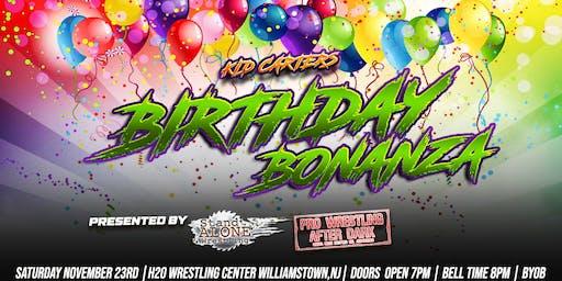 Kid Carters Birthday Bonanza