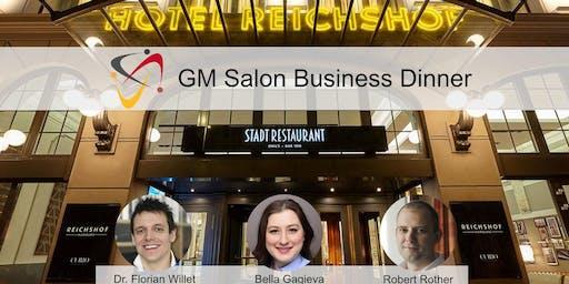 5. German Mittelstand Salon: Business-Dinner im Hotel Reichshof Hamburg