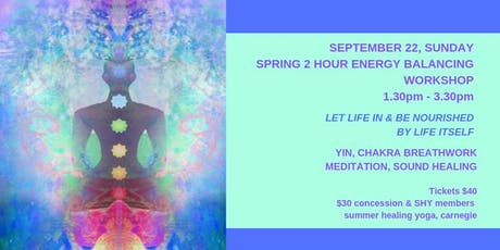 SPRING EQUINOX ENERGY CLEARING WORKSHOP tickets