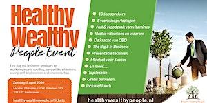 Healthy Wealthy People ONLINE Event 5-4-2020