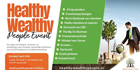 Healthy Wealthy People Event 5-4-2020 tickets