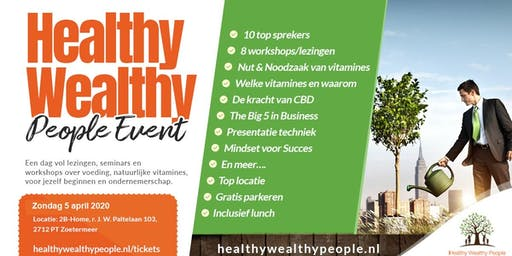Healthy Wealthy People Event 5-4-2020