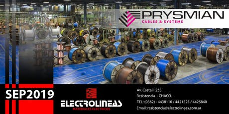 Charla Técnica Prysmian - Electro Lineas - Resistencia SEP2019 entradas