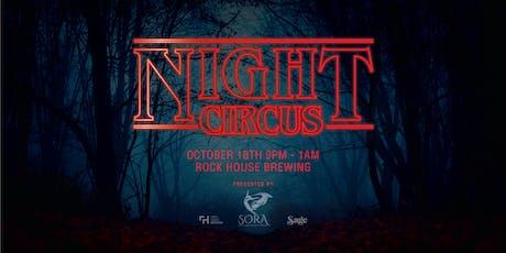 Night Circus: Halloween Edition tickets
