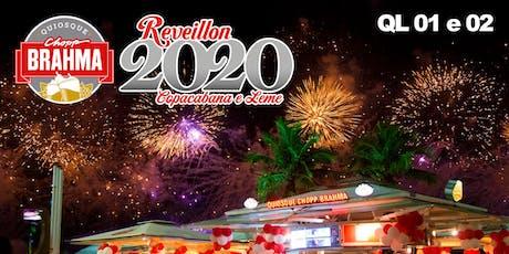 Reveillon Chopp Brahma Leme 2020 bilhetes