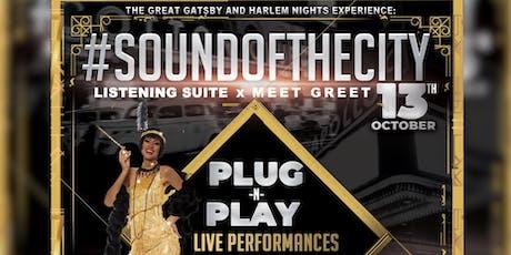 #SOUNDoftheCITY #GreatGatsby #HarlemNights VIP EXPERIENCE #BETHipHopAwards #AtlHipHopDay #A3C tickets