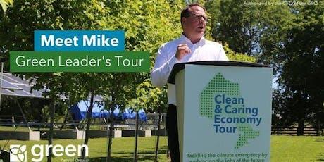 Meet Mike Schreiner: Green Leader's Tour tickets
