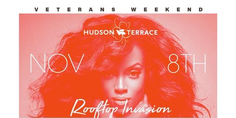 Veterans Day Weekend Hip Hop Caribbean Afrobeats @ Hudson Terrace tickets