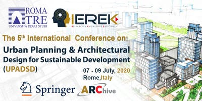 Urban Planning & Architectural Design for Sustainable Development – 5th Edi