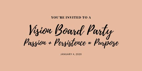 2020 Vision, Vision Board Soiree tickets