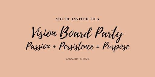 2020 Vision, Vision Board Soiree