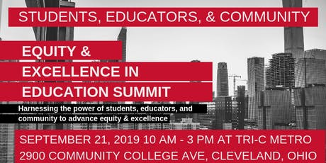 Equity & Excellence in Education Summit entradas