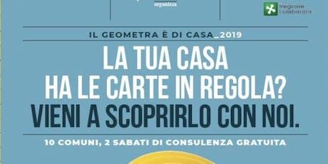 Il Geometra è di Casa 2019 biglietti