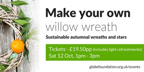 Make your own willow wreath tickets