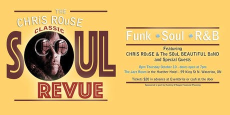 CLASSiC SOuL REVUE in WATERLOO ~* tickets