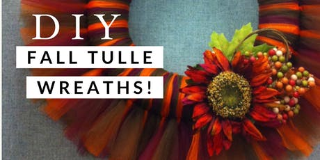 DIY Fall Wreath Craft Night! tickets