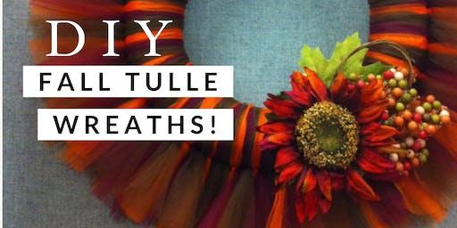 DIY Fall Wreath Craft Night!