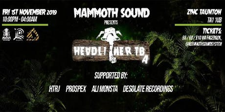 Mammoth Sound Halloween Special - Headliners TBA tickets