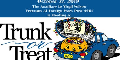 Trunk or Treat at the Veterans of Foreign Wars Post 4961 tickets
