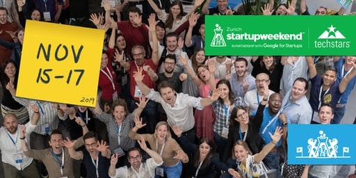 Techstars Startup Weekend | Zurich |15-17 November 2019