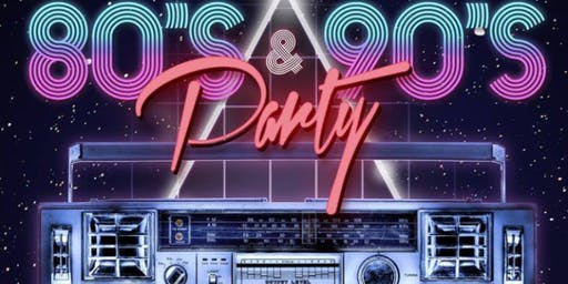 CATS Fundraiser: 80's/90's Party!